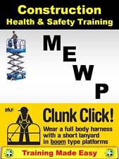 MEWP Cherry Picker - UK Health and Safety Construction Training Made Easy UK