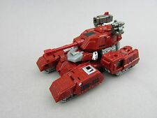 Transformers Generations Warpath Deluxe Tank 2011 Hasbro