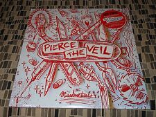 Pierce The Veil Misadventures Red w/White Flare colored vinyl Sealed