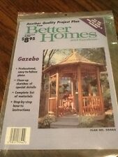 New Sealed Project Plans To Make a Gazebo-Better Homes and Gardens