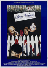 24X36Inch Art BLUE VELVET Movie Poster 1986 David Lynch Dennis Hopper P35
