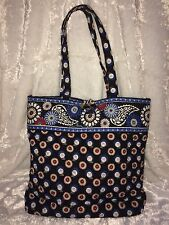 Hard to Find VERA BRADLEY NIGHT OWL TOTE Purse Bag! Excellent Used Condition