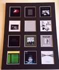 "JOY DIVISION DISCOGRAPHY PICTURE MOUNTED 14"" By 11"" READY TO FRAME"