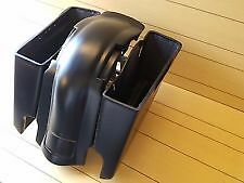 "HARLEY DAVIDSON 6"" STRETCHED SADDLEBAGS FENDER LID BAGGER ROAD GLIDE ULTRA 09-13"