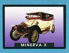 AUTO - Stickline - Figurina-Sticker n. 12 - MINERVA X - 1911 -New