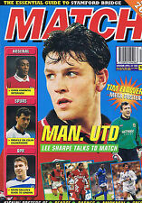 LEE SHARPE MAN UTD / TIM FLOWERS / ARSENAL / SPURS Match Apr 22 1995