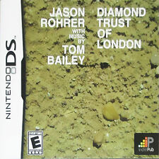 BRAND NEW SEALED DS GAME -- Diamond Trust of London (Nintendo DS, 2009)