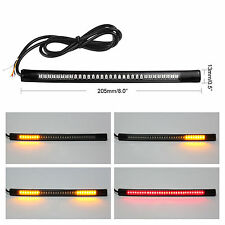 Soft Flexible 48LED Motorcycle Light Strip Rear Tail Brake Stop Turn Signal Lamp
