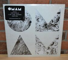 OF MONSTERS AND MEN - Beneath The Skin, Ltd 2LP CLEAR VINYL Die-Cut Gatefold NEW