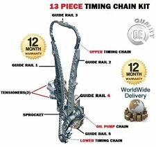 FOR SEAT LEON 1.8 TSI 160BHP CDAA 2007-  NEW UPPER + LOWER TIMING CHAIN KIT