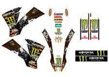 KTM GRAFICHE STICKERS MONSTER EXC SX 2003 2004 2005 2006 2007