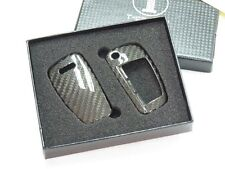 Deluxe Carbon Remote Flip Key Cover shell case for Audi A1 A3 A4 TT A6