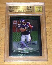 2009 Bowman Chrome Percy Harvin RC BGS 9.5/10 Auto Gem Mint
