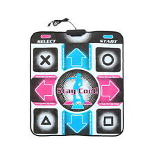 Non-Slip Dancing Step Dance Mat Pad Pads Dancer Blanket to PC with USB New VH