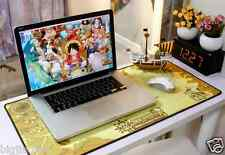 One Piece Gold Nautical Chart Game Mat Anime Originality Large Mouse Pad