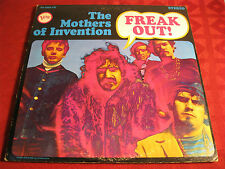 2LP Psych Prog THE MOTHERS OF INVENTION Freak Out!   Original VERVE US 1966