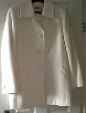 CLASSICS IVORY MACHINE WASHABLE COAT SIZE UK-16
