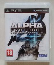 Alpha protocol ps3 / Fr / complet / b-r sans rayure / envoi gratuit