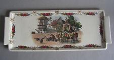 Sarreguemines LOUX Utzschneider Obernai plat Platte Kuchenplatte Art Nouveau