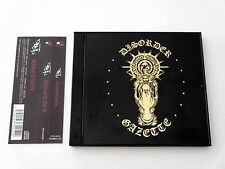 the GazettE Disorder 1st Press Limited Edition Japan CD w/OBI PSTA-0052