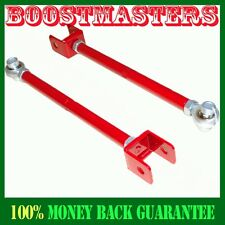 For 89- 94 Nissan 240SX S13 RED Rear Lower Control Toe Arm Kit