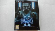 Star Wars The Force Unleashed II 2 PS3 Edición de Coleccionista para PlayStation 3 Nuevo