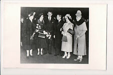 Photo Card King George VI Queen Elisabeth & Mary, Queen Ingrid King Frederick