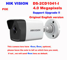 Hikvision Original English DS-2CD1041-I 4MP security IP Network Bullet IR Camera