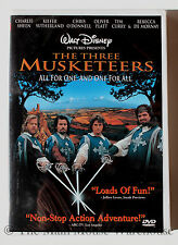 Disney The Three Musketeers Live Action Movie DVD English & French Sheen Kiefer