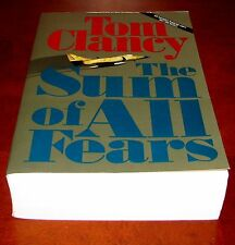 The Sum of All Fears, Tom Clancy**1st Ed. Uncorrected Proof, Advance Copy ARC