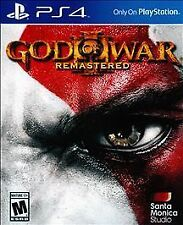 God of War 3 III: Remastered (Sony PlayStation 4, 2015) PS4 BRAND *NEW* SEALED!