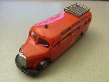 Praline Feuerwehr Bus MB 03500 Feuerwehr Berlin  aus Sammlungsauflösung