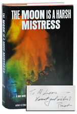 Robert A. Heinlein-THE MOON IS A HARSH MISTRESS-3RD PRINTING, SIGNED & INSCRIBED