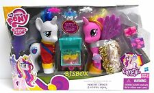 My Little Pony Crystal Empire Princess Cadance & Shining Armor Deluxe 2 Pack New