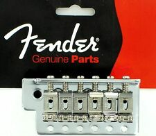 Fender Vintage tremolo bridge ponte stratocaster CHROME BIG BLOCK 0071014049