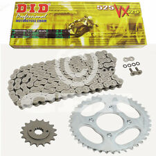 Kit catena Honda XL 650 V Transalp 00-06, Catena DID 525 VX 118, aperta, 15/48