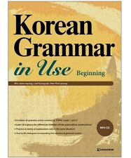 Korean Grammar in Use included for Beginning level + with CD