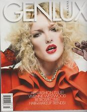 GENLUX MAGAZINE DECEMBER 2012, HOLIDAY ART+FASHION ISSUE!, VIVIENNE WESTWOOD.