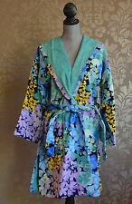 Missoni Home Ludovica Floral Robe Cotton Short Hooded Color 170 Size Medium