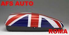 BOX AUTO PORTAPACCHI PORTATUTTO G3 KRONO 320 INGLESE MADE IN ITALY AFS ROMA