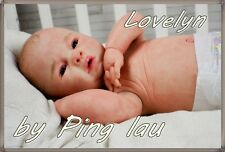Baby  Reborn LOVELYN by PING LAU ' Full body Anatomically Correct  bOY