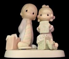 Precious Moments, E-2377, Our First Christmas Together, Issued 1982, Susp 1985