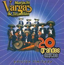 MARIACHI VARGAS DE TECALITLAN     20 grandes exitos   MEXICAN CD  Warner  2006 !