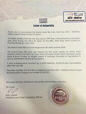 2014 US Open Pure Silver Flip Coin - Mixed Doubles Finals - MEIGRAY LOA - Tennis