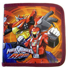Power Rangers 24 CD DVD BLU-RAY Storage Carry Organizer Case NW