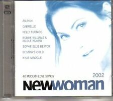 (CJ670) Newwoman 2002, 40 tracks - 2002 double CD