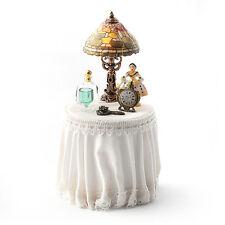 Reutter Porzellan Nachttisch Skirted Night Table Display Puppenstube 1:12