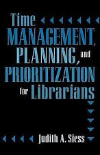 TIME MANAGEMENT, PLANNING, AND PRIORITIZATION FOR - NEW PAPERBACK BOOK