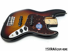 LOADED American Fender Standard Jazz BASS V 5 STRING BODY USA  3TS Sunburst