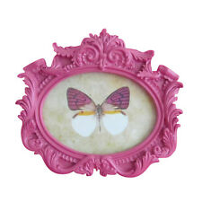 CILIEGIA Hot Fucsia Rosa boudoir francese Rococò Photo Frame Wall & permanente